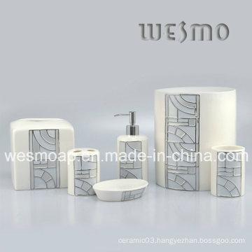 Grid Porcelain Bath Accessory (WBC0503A)