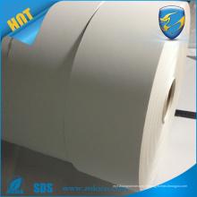 Étiquette de coquille de vinyle de vinyle ultra-destructible mat blanc
