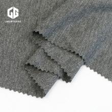 TR Grey Melange Spandex Roma Fabric Use