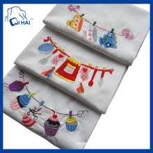 100% Cotton Yarn Macaron Kitchen Towel (QHA3212)