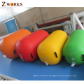 New arrival custom thickness designed scientifically inflatable air barrels for gym