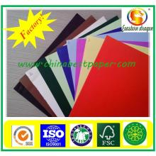 Low price color offset paper/color paper