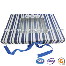 Paper Foldable Box with Magnet Closure for Bedding Sheets