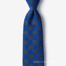 Créez votre propre marque Marque privée Mens soie Laine Cravate