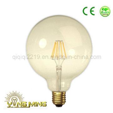 G125 Gold Colored 5W 550lm LED Filament Bulb