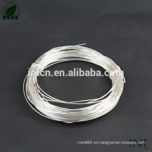 venta caliente de alambre de plata alto rendimiento 99.99