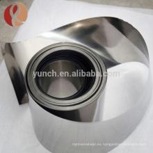 99.95% Unalloy Pure Tantalum papel precio Astmb708 para la venta