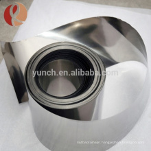 99.95% Unalloy Pure Tantalum Foil Price Astmb708 for Sale