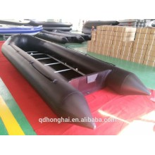 PVC or Hypalon Inflatable Boat 7m Plywood floor pvc boat aluminum floor