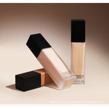 Matte Liquid Foundation Full Coverage Face Makeup Base Waterproof Moisturizing Foundation For Women Skin Use