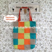 Hanf-Patchwork-Tasche (HPB-06)