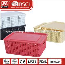 Гуанчжоу HAIXING хранения пластиковых плетеной корзины