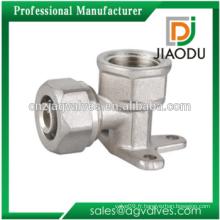 Raccord de compression en laiton coudé en métal pour pEX-AL-PEX Pipe