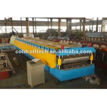 máquina de prensagem de deck duplo