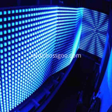 DMX blue led neon rope lights