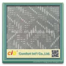 Bonne qualité Polyester canapé brocart tissu d'ameublement
