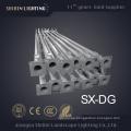 Poste ajustable de aluminio de la iluminación al aire libre de 12m