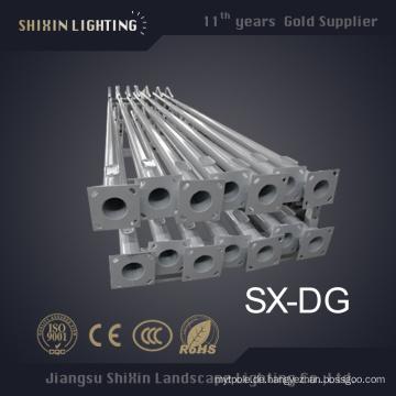 Eisen Street Lighting Pole 3m bis 8m zum Verkauf