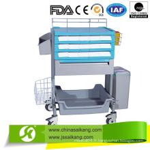 Chariot de transfert ABS de luxe à usage médical