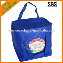 Top quality non woven cooler lunch Bag with long handle