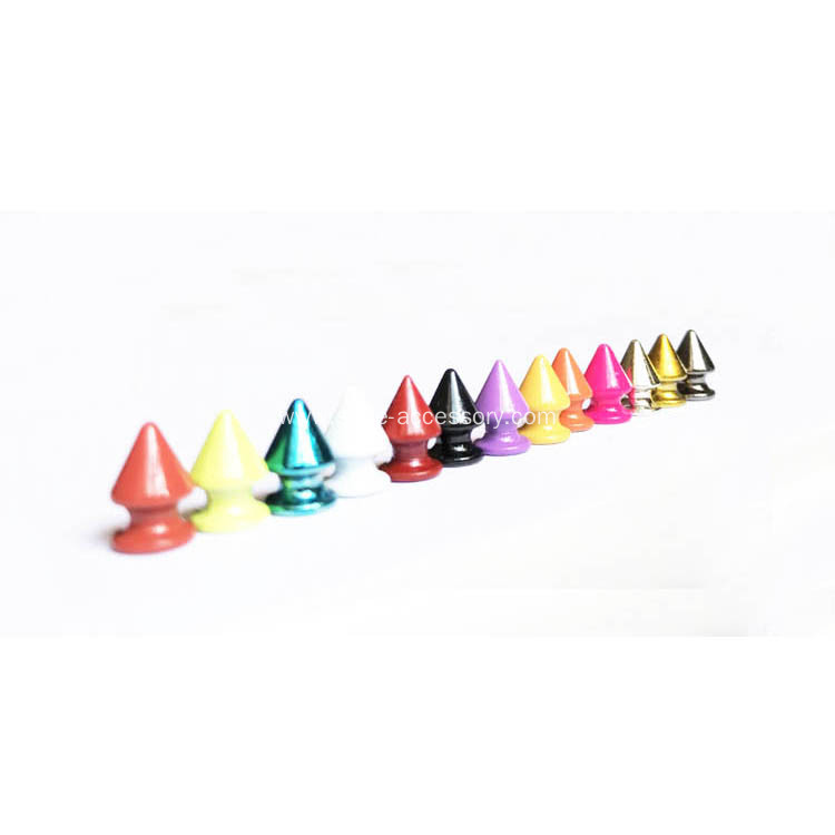 Colorized Brass Tree Spikes for Leather Crafts
