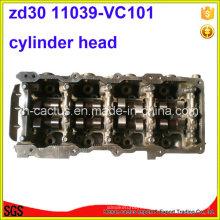 Cilindro de cilindro Zd30ddti Zd30 completo Zd3 K5mt 11039-Vc10A 11039-Vc101 Cilindro de cilindro Zd30 para Nissan