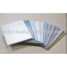 Luckybond Unbreakable PVDF & PE, brush & mirror Aluminum Plastic Composite Panel