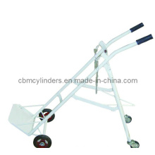 Large Oxygen Cylinder Trolley (Paint White)