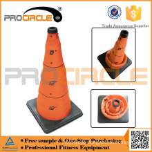 Colorful Emergency Road-Block Flashing Traffic Cone