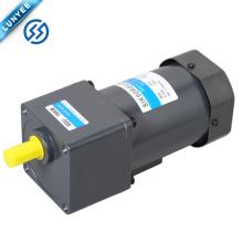 Motor elétrico pequeno da engrenagem de controle de velocidade da CA de 120w 90mm com caixa de engrenagens