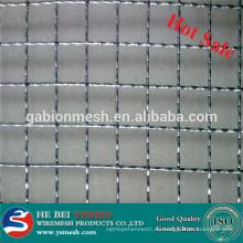 Nuevo producto galvanizado malla de alambre prensado anping fábrica