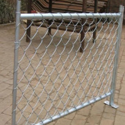 Construction Site Temporary Chain Link Fence