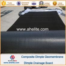 Géomembrane de Dimple de HDPE pour le terrain de golf