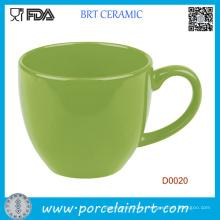 Оптовая Зеленый Простой Стиль Кофе Чашки