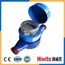 Medidor de agua inteligente / medidor de flujo de agua de bajo costo / medidor de agua multi Jet