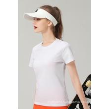Wholesale Cotton  Custom Promotion Team OEM Round Neck Plain Women′s T Shirts