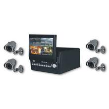 Triplex Digital Video Recorder with 7-inch In-dash LCD Monitor