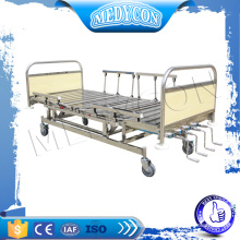 stainless steel multifunction five functions 5 function manual bed