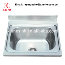 Großküchen-Spülküche Scullery Basin mit einzelner Schüssel, Edelstahl eins 1 Fach-Wanne mit Untergestell