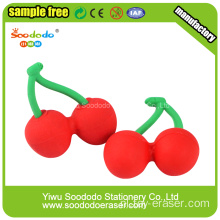 Cherry Shaped Eraser, voedsel vorm School Eraser