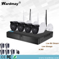 Beste 4-Kanal 720P Wireless Security WiFi NVR-Kits