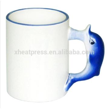 11oz coated ceramic Animal Mug