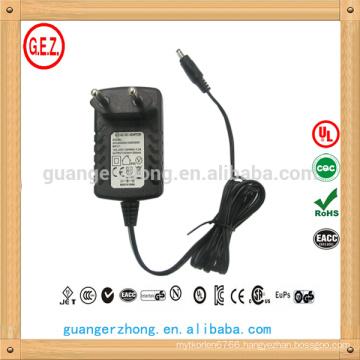 adapter 6.5 V , 1100 mA