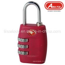 Verrouillage de bagages ABS Tsa (516)