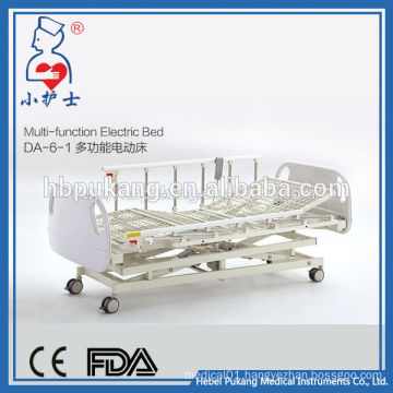 DA-6-1 China factory sale multi-function hospital bed/ medical emergency adjustable electric bed/T-motion motor electric bed