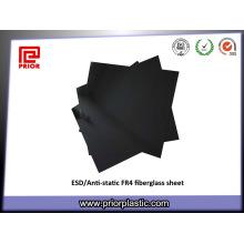 Feuille de fibre de verre antistatique époxy de fabricant professionnel