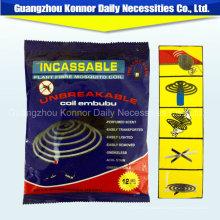Оптоволоконная бумажная катушка для защиты от москитов