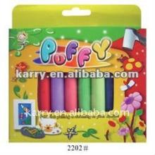 Set de peinture bouffante 10 couleurs avec tube pour enfant