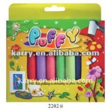 10-color puffy paint set with tube fo r kid