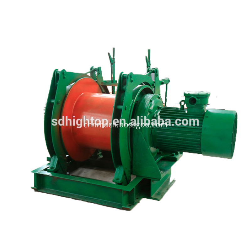 Mining Winch for Pulling